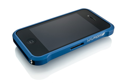 Element Case Chroma in Blue - Front, Slot